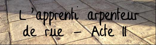 L'apprenti arpenteur II